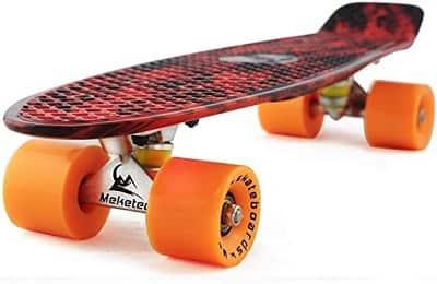 Meketec Skateboards Complete 22 Inch Mini Cruiser