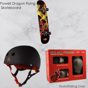 Powell Golden Dragon Flying Skateboard for 8 years old Review
