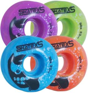 SkateXS Beginner Panda Street-wheels
