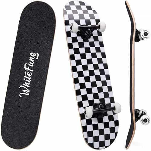 White fang skateboard for beginners