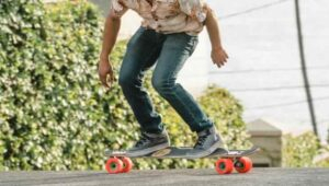 skateboard smooth surface