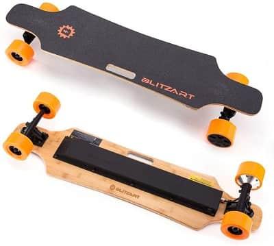 Blitzart 38 Hurricane Electric Longboard Electronic Skateboard 2