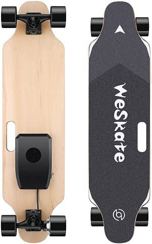 WeSkate 35 inch Electric Skateboard Longboard with Remote Controller