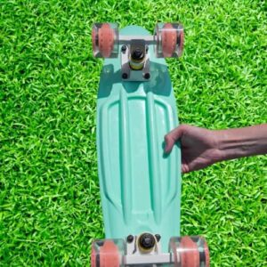 Cal 7 Complete Mini Cruiser Skateboard 22 Inch Review Best 2021 deck-truck-wheels