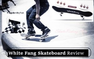 White Fang Skateboard Review