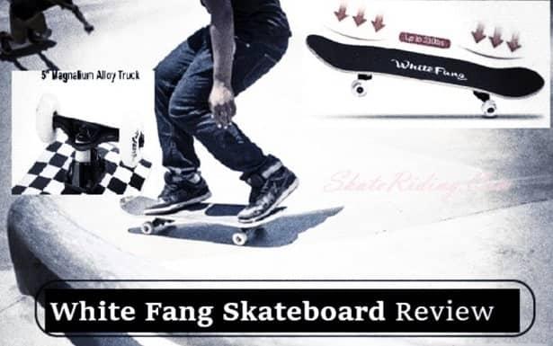 White Fang Skateboard Review