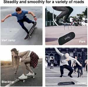tricks whitefang skateboard