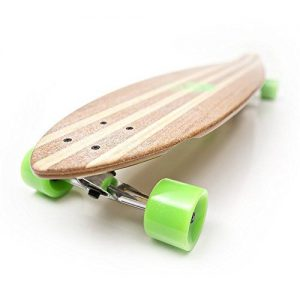 The-White-Wave-Bamboo-longboard-Pintail-Review-deck
