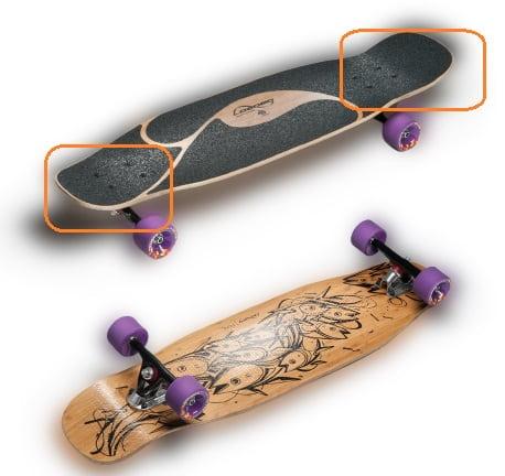 Poke-Paris-Completes longboard-skateboard